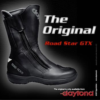 38 Damen Motorradstiefel Sohlenerhöhung 6cm Daytona SL Pilot Gore Tex Gr